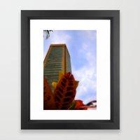 Strong Tower Framed Art Print