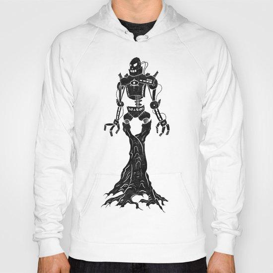 Antiquarian Roboterbaum Hoody