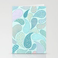 Pastel Paisley Stationery Cards