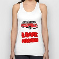 Love Machine  Unisex Tank Top