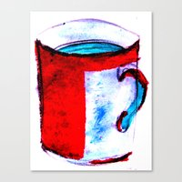 Big Coffee Cup Canvas Print
