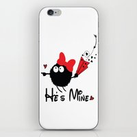 He's Mine iPhone & iPod Skin
