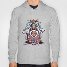 The Wolf Princess (Purpl… Hoody