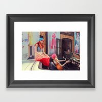 Vagabonds Framed Art Print