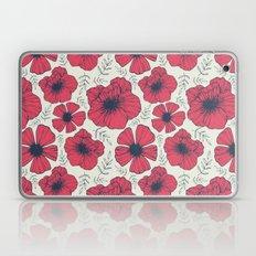 Raspberry Flowers Laptop & iPad Skin