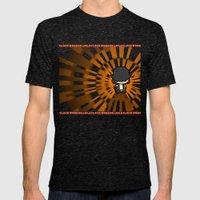 Clockwork Orange Mens Fitted Tee Tri-Black SMALL