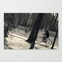 Ride Along Canvas Print