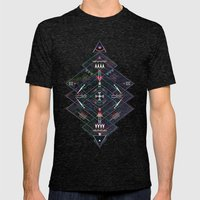 Maze Mens Fitted Tee Tri-Black SMALL