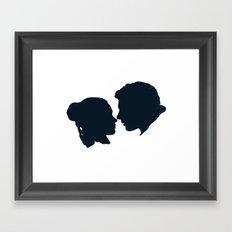 I Love You, I Know Framed Art Print