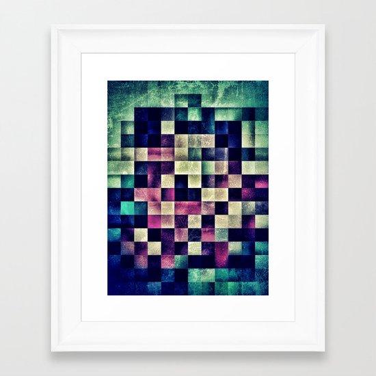 unpixel Framed Art Print