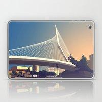 Calatrava Bridge Jerusal… Laptop & iPad Skin