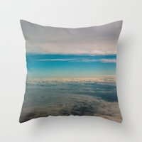 In The Middle Of Sky Throw Pillow