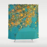 Sea And Sunshine Shower Curtain