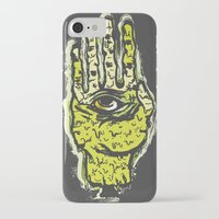 zombie iPhone & iPod Cases featuring Zombie by Mila Spasova