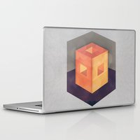 pixel Laptop & iPad Skins featuring Pixel by Camilo Bejarano