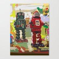 Robots Canvas Print