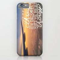 I've been through the desert, and I've been across the sea iPhone 6 Slim Case