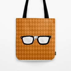 Momma always dressed me in argyle Tote Bag