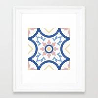 Floor Tile 2 Framed Art Print