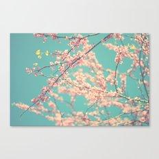 I Love Spring Canvas Print