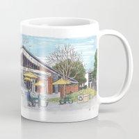freeborn hall panorama Mug
