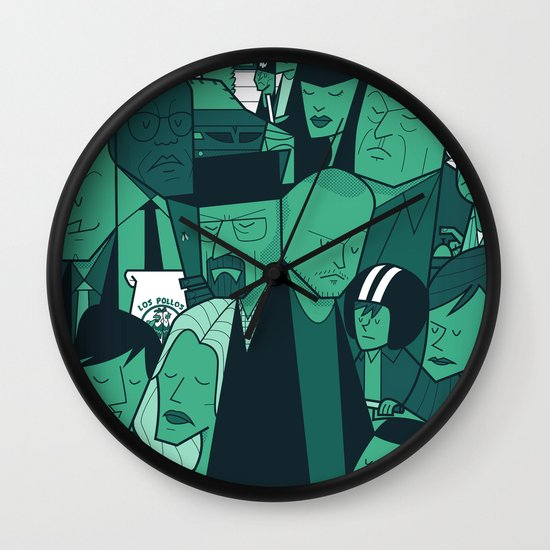 Breaking Bad (green version) Wall Clock