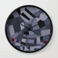 London Roads 45 Wall Clock