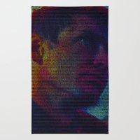 Deckard: Blade Runner Screenplay Print Rug