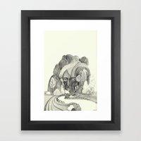 The Hill Framed Art Print