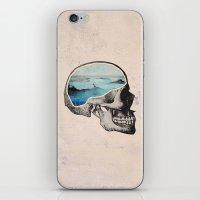 Brain Waves iPhone & iPod Skin