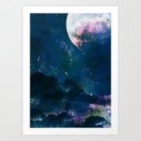 5pace 4bstarct Art Print
