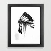 Native Living Framed Art Print