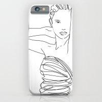 Line Art Lady iPhone 6 Slim Case