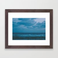 To The Lonely Sea And Th… Framed Art Print