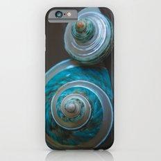 Blue and Green Seashells iPhone 6 Slim Case