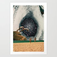 Catch The Wormhole Of 3:… Art Print
