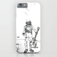 iPhone & iPod Case featuring Underwater Rhythm by Carley Lee