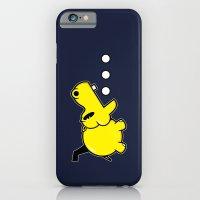 iPhone & iPod Case featuring Waka Waka Hippos by Mike Handy Art