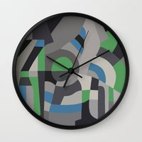 Hacienda Green Wall Clock