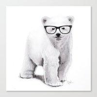 Polar Disorder Canvas Print