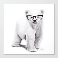 Polar Disorder Canvas Print