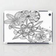 Vermont Zentangle Snow F… iPad Case