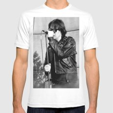 Jules - The Strokes Mens Fitted Tee White SMALL