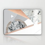 Laptop & iPad Skin featuring Collage I ( Marble And C… by Marta Olga Klara