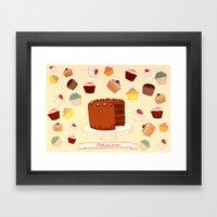I Bake your Pardon! Framed Art Print
