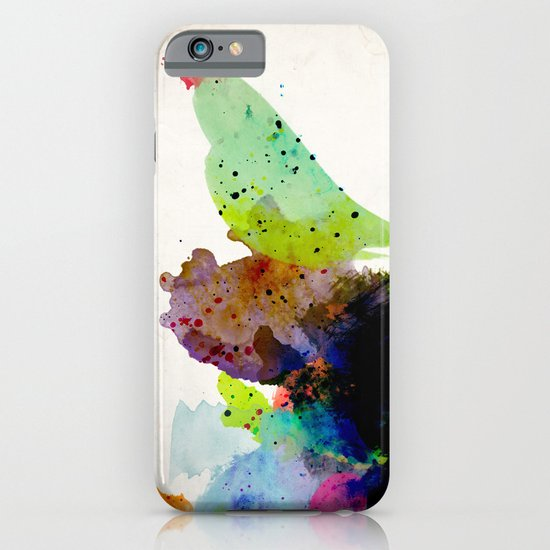 Bird standing on a tree iPhone & iPod Case