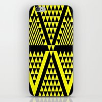Black & Yellow iPhone & iPod Skin