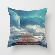 View From The Pier Throw Pillow