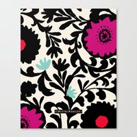 Suzanna Flower Canvas Print
