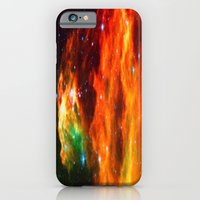 iPhone & iPod Case featuring Spaceplosion by undertow